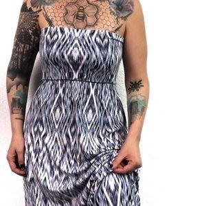 Cynthia Rowley Strapless Maxi Tube Dress